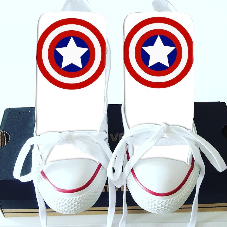 9c12adfdc47c Custom Captain America Converse Version 1