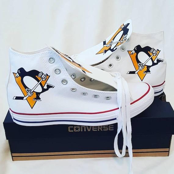 Custom Pittsburgh Penguins Converse (Version 1)