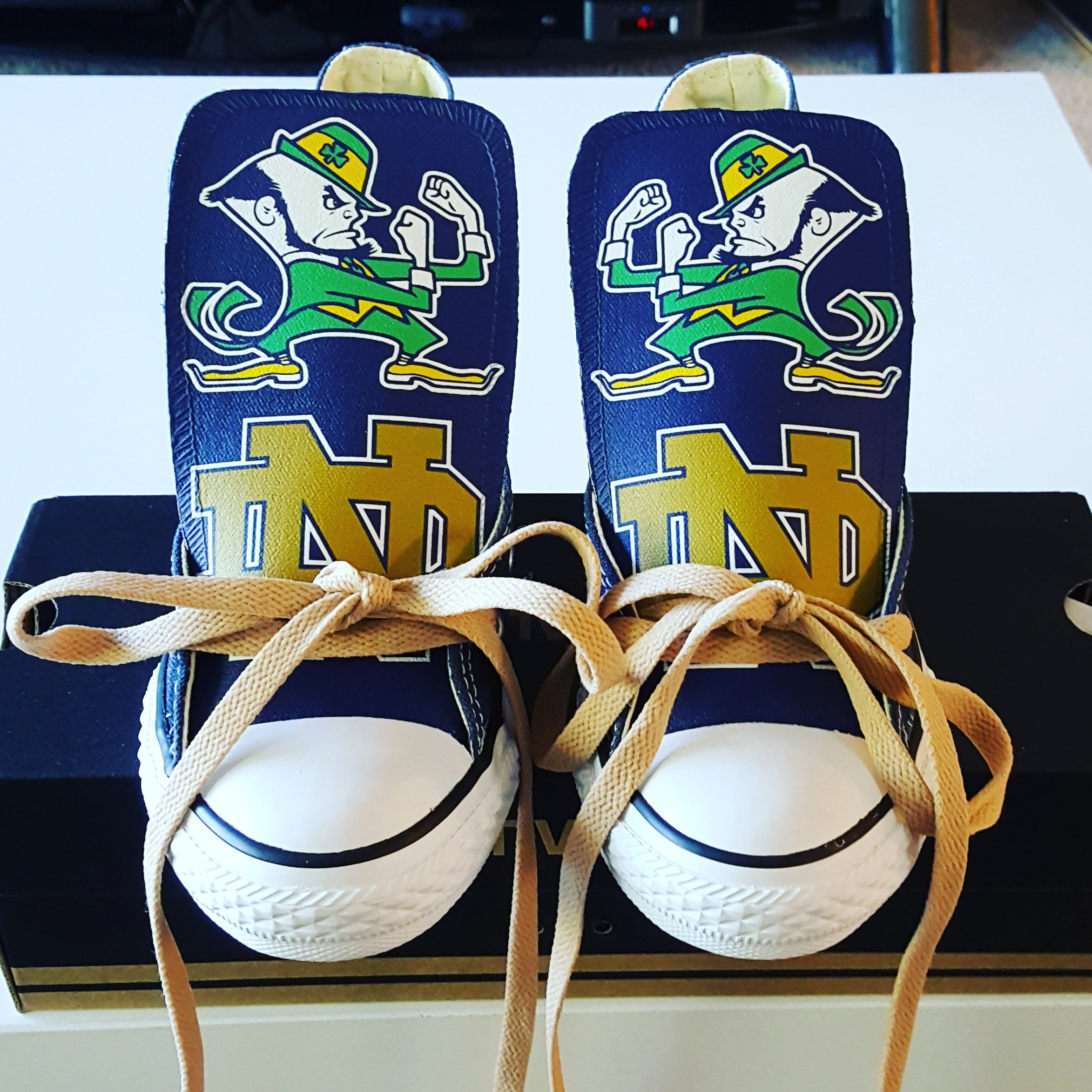 adidas Notre Dame Fighting Irish Toddler Go Team Hoodie