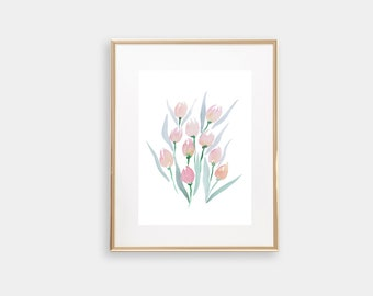 Tulip Art Print 5x7