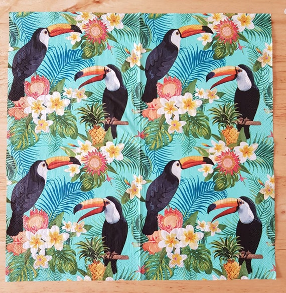 4x Paper Napkins for Decoupage Decopatch Craft Party this Way