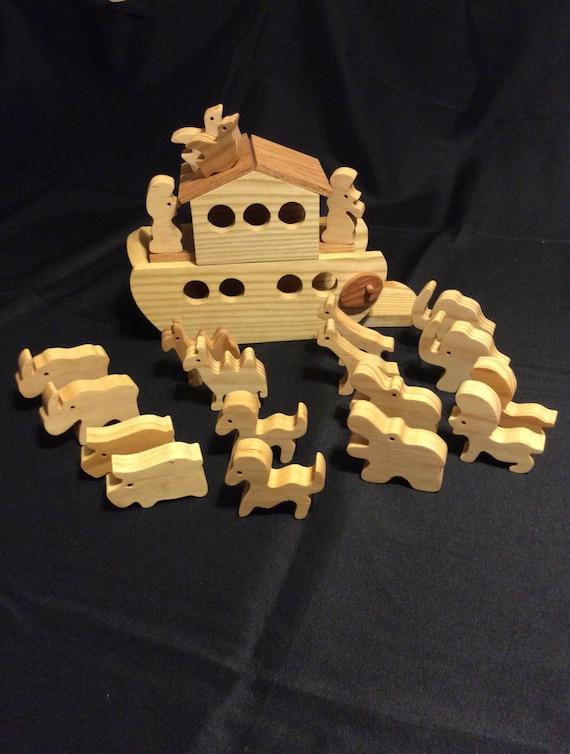 Noahs Ark Wooden Ark Toy Ark