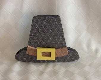 Pilgrim hat, pilgrims, Thanksgiving decorations, holiday decorations