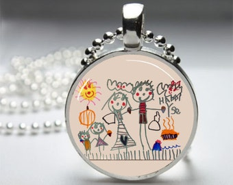 Turn Your Child's Art into a Necklace