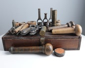 c1880 Reloading Tools Assortment Hunting Collectibles Lot