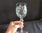 Waterford Powerscourt Water Goblet Irish Cut Crystal Stemware 7 5 8 quot (multiple available)