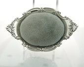 c1940 Gorham pierced sterling Silver Pincushion