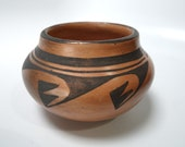 Zella Cheeda Hopi Pottery Olla Antelope Woman (1901-1997)