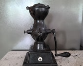 c1910 Enterprise country store Cast Iron Coffee Grinder
