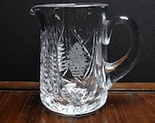 Waterford Christmas Suite 32 oz Pitcher 1999 6 3 8 quot tall