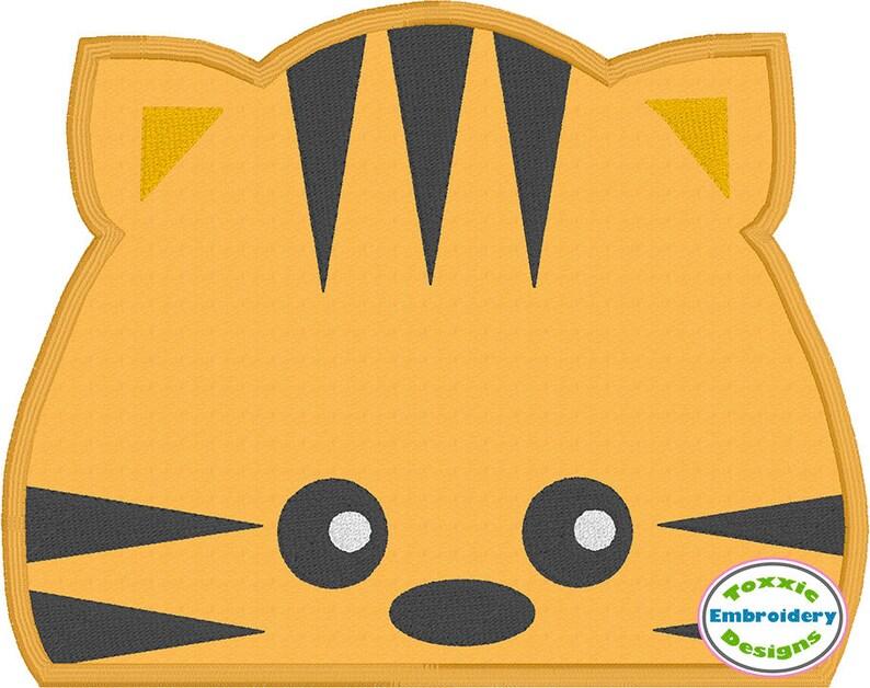 Tiger Peeker Applique image 0