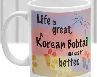 Korean mug | Etsy