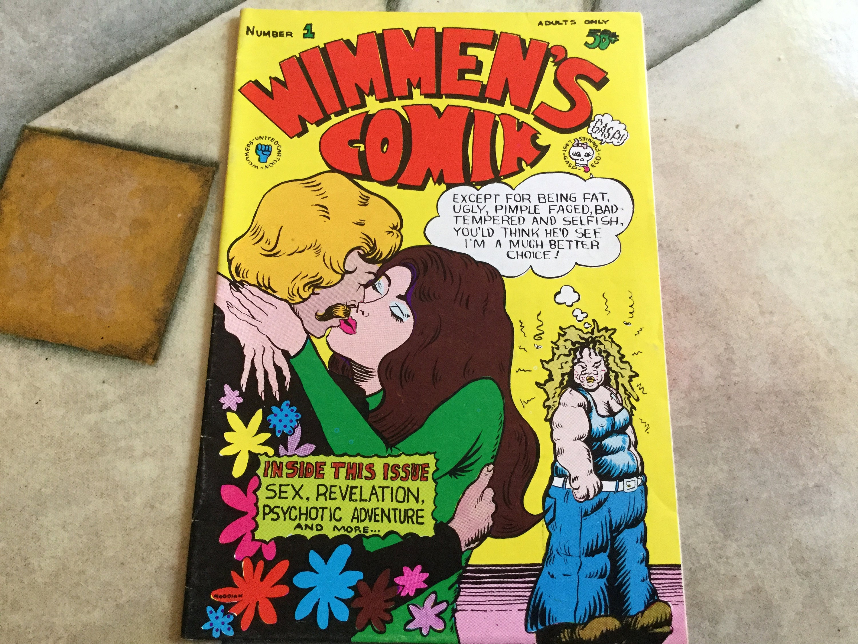 Wimmens Comix Number One 1972 Trina Robbins Sandy Comes Out | Etsy