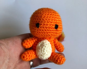 Amigurumi Crochet Charmander