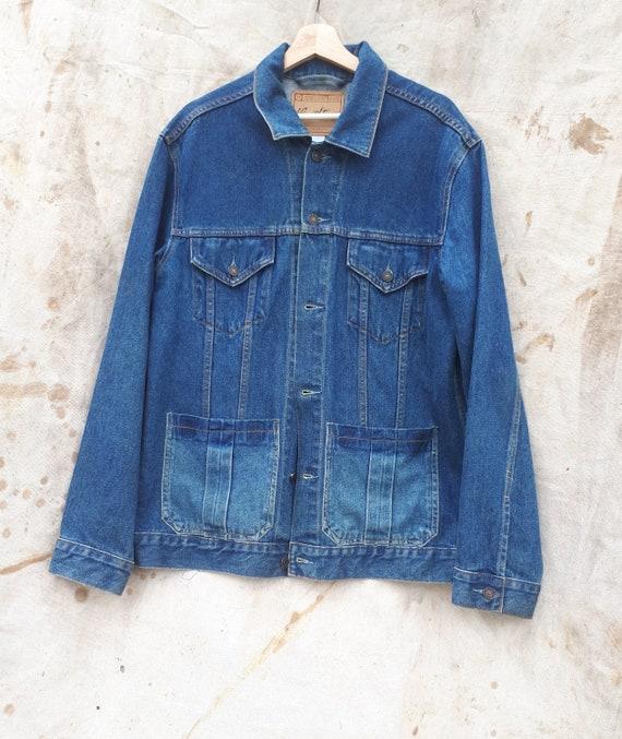 L-XL Levis Denim Jacket / Chore Coat, oversied,