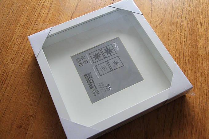 IKEA Ribba Frame 23x23 cm pack of 5 Any colour or two tone   Etsy