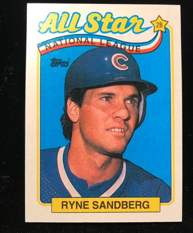 Ryne Sandberg Topps 387 # 515