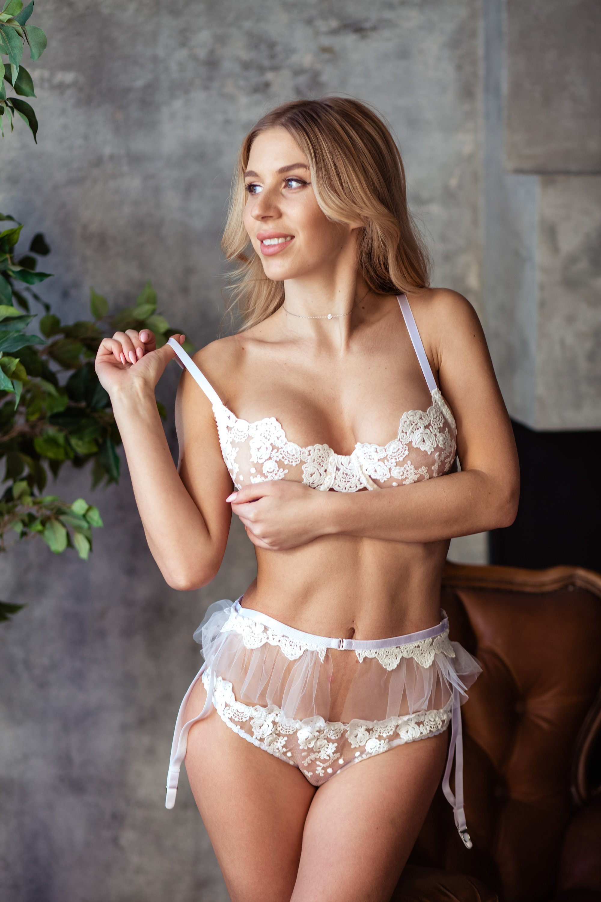 ce76890d2 50. White Lingerie Set Women Lingerie See Through Lingerie Mesh ...