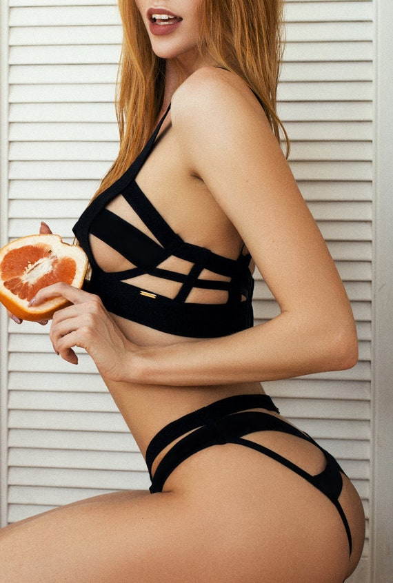 Wife bdsm bikini panties