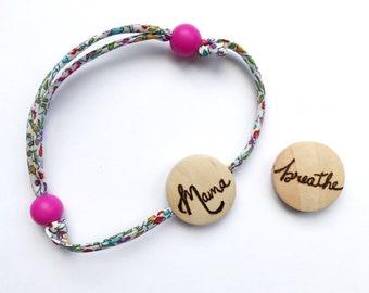 Liberty bracelet (breastfeeding bracelet) with Mama bead