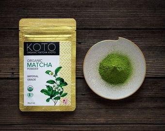 Organic Matcha Powder Imperial Grade 30g