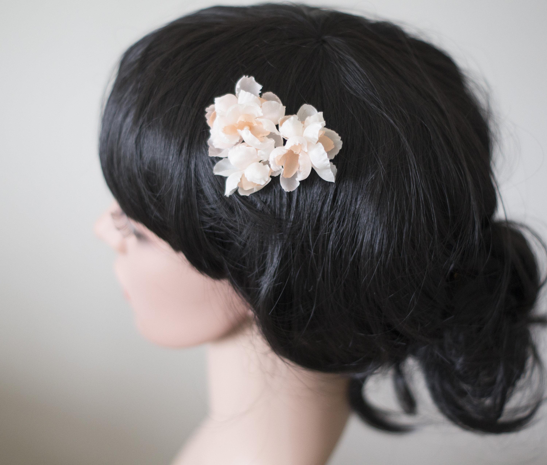 Flower Hair Pins Silk Hair Flowers Bridal Hair Flowers Etsy