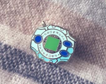 Digimon - Digivice Enamel Pin