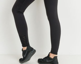 JP Activewear High Waist Black Leggings