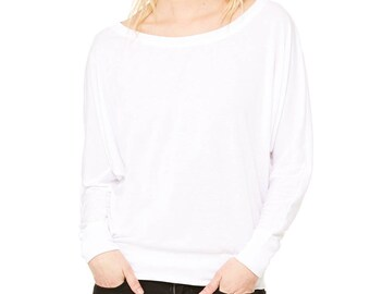 Ultra Soft Boat Neck Top - white