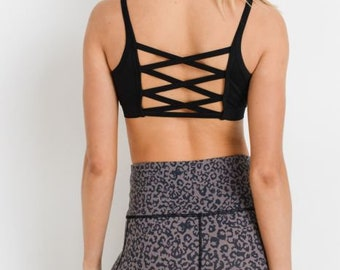 JP Activewear Criss-Cross Sports Bra