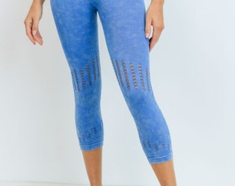JP Activewear High Waist Seamless Capri Leggings