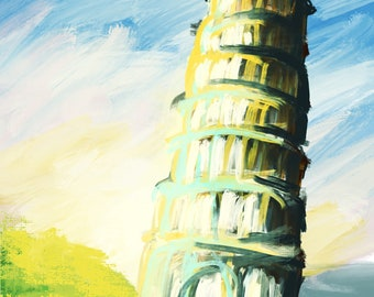 Italy's Leaning Tower of Pisa