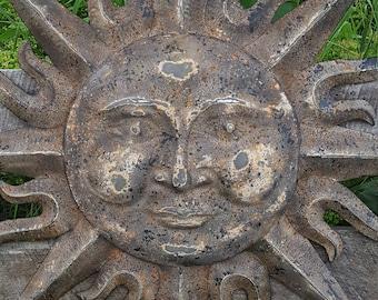 Metal Garden Decor Metal Sun Wall Art Indoor Outdoor Wall Art Metal Sun  Decor Garden Tribal