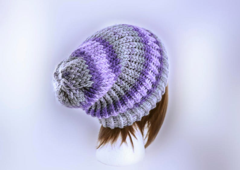 961483ed89c Decadent Decay Beanie Ethereal Slouchy Winter Hat Handmade
