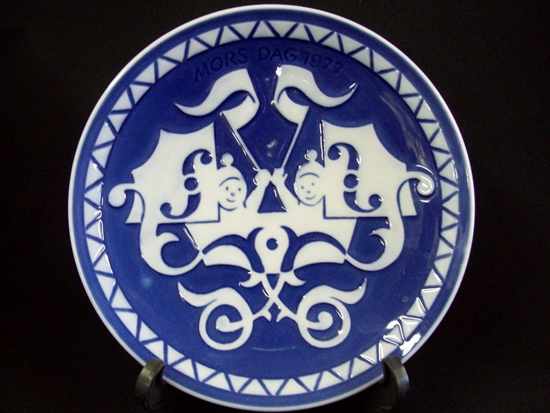 1977 Royal Copenhaagen Mother/'s Day Plate