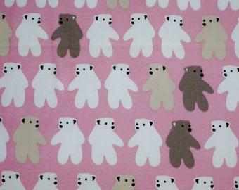 Molleton Sweat Fabric Alpi the White Bear Malabar Background