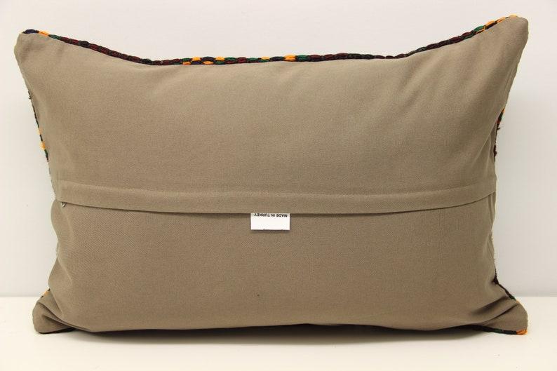 Turkish kilim pillow cover 16x24 inch 40x60 cm Novelty Lumbar Kilim pillow Unique Pillow Ethnic Pillow cover Kilim Cushion Cover F-329