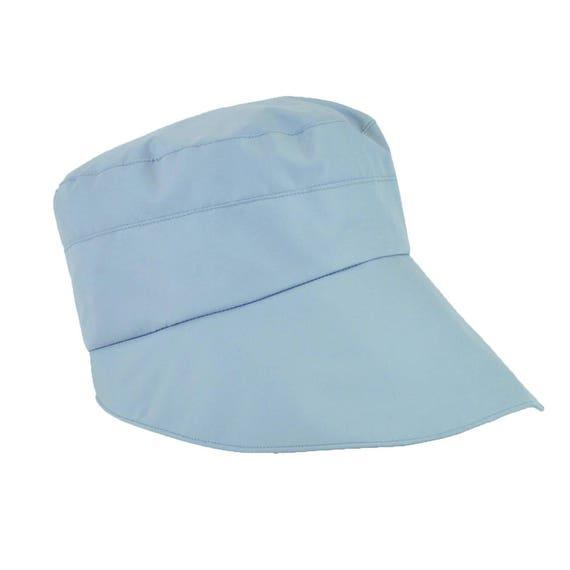 Zaha - casquette de pluie imperméable et pliable - perle - La Tribu des Oiseaux