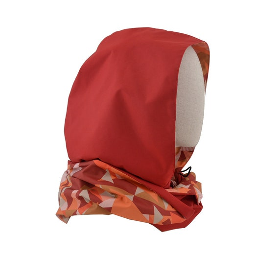 Hood PILE OU FACE - rouge + notebook + bag