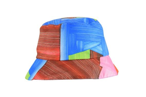 Inside Out - chapeau de pluie pliable et réversible - black/multico - La Tribu des Oiseaux X Frédéric Khodja