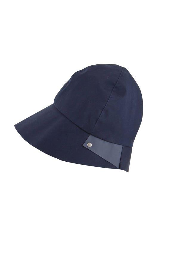 Malevitch - chapeau de pluie imperméable et pliable - bleu - La Tribu des Oiseaux