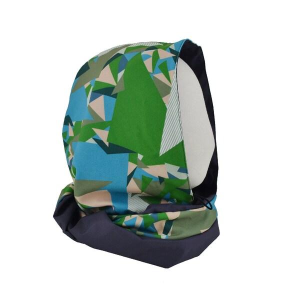 Hood PILE OU FACE - green + notebook + bag