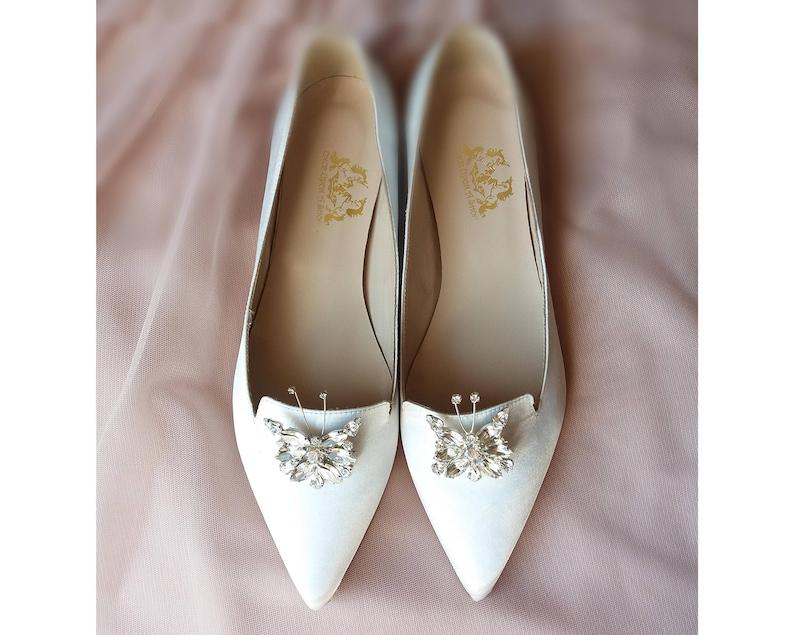 9eb2eebf1b6d8 Flat wedding shoes White bridal flats Wedding flat shoes