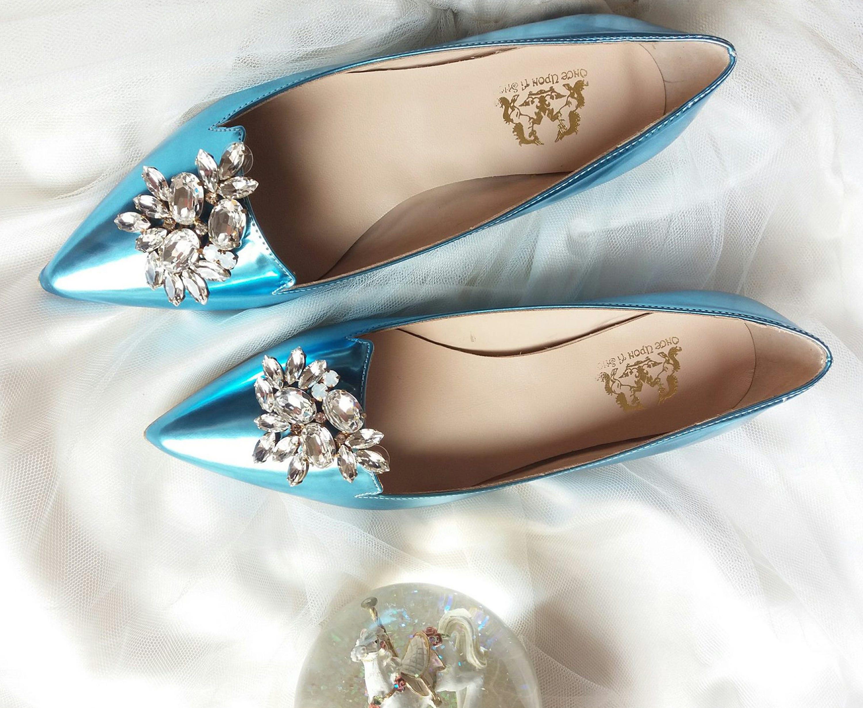 Wedding flat flat shoes Bridal wedding flat Wedding shoes Wedding flats Flats Handmade Ballet flats gift women gift Bridal flats gift blue women shoes 78f65f