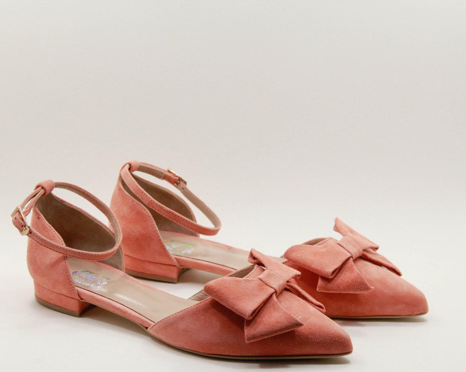 women flat shoes flats handmade ballerinas leather ballerinas bows womens shoes bows womens ballet shoes flats womens flat shoes