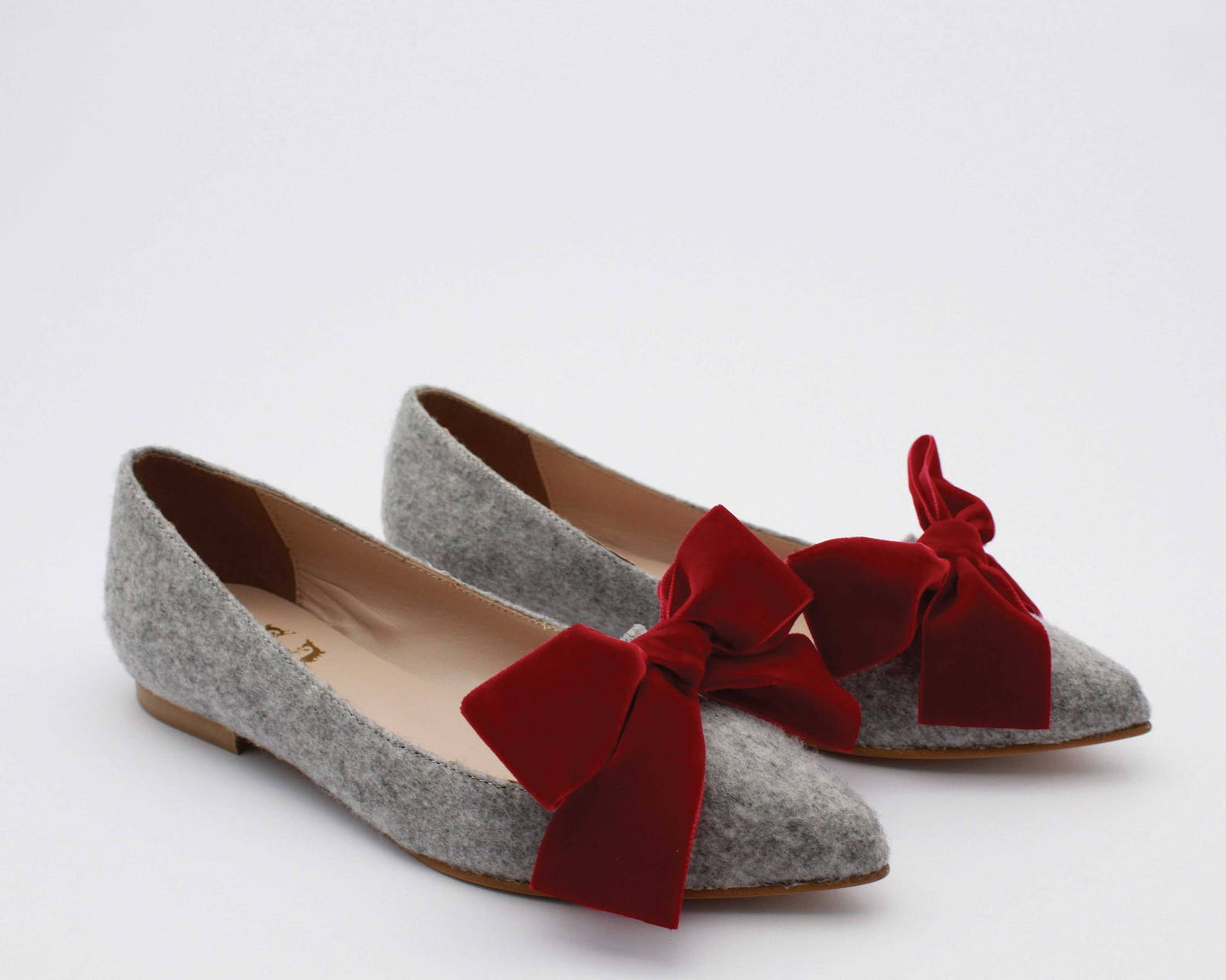 flat shoes women women ballet flats shoes with bows velvet flat shoes women flats women flats leather flat shoes handmade women