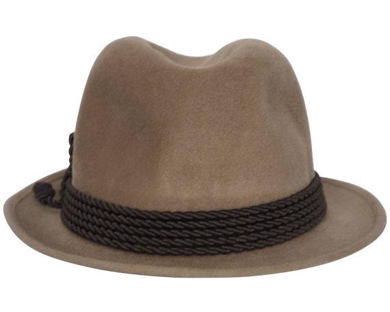 Vintage Rockel Fedora 1970s Mens Velour Hat Alpen… - image 3