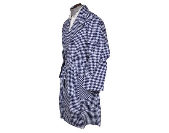 Robe vintage des années 1970 pour homme taille pied de poule NOS dans l'Original Box utilisé taille homme M 6a8f6a