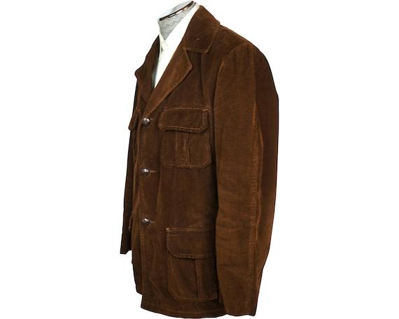 Vintage 1960s Corduroy Jacket Coat Canada Sportsw… - image 2
