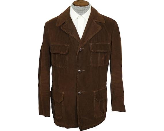 Vintage 1960s Corduroy Jacket Coat Canada Sportsw… - image 1